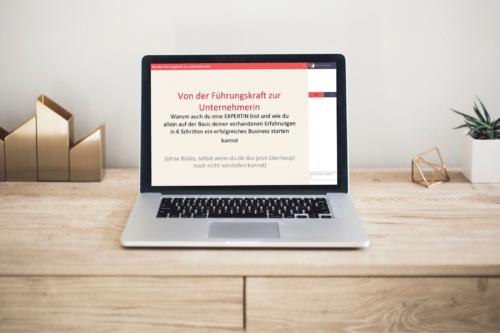 Webinar: Von der Führungskraft zur Unternehmerin