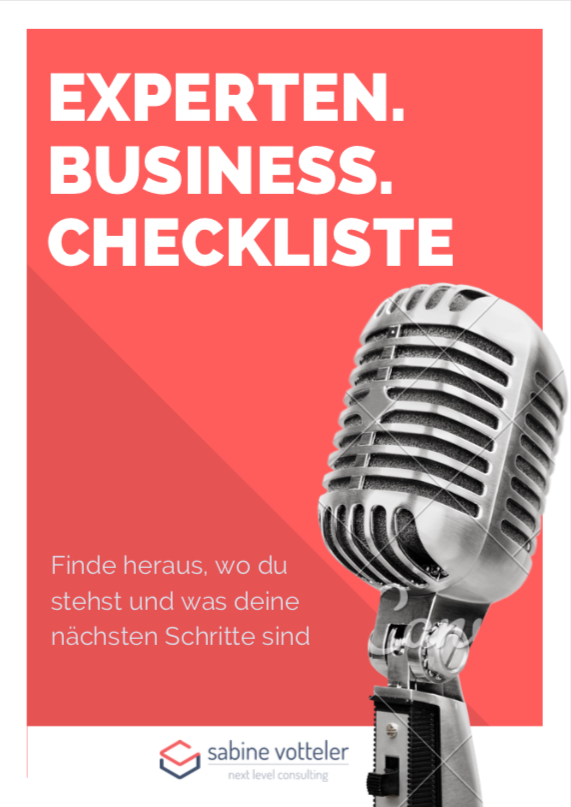 Experten Business Checkliste