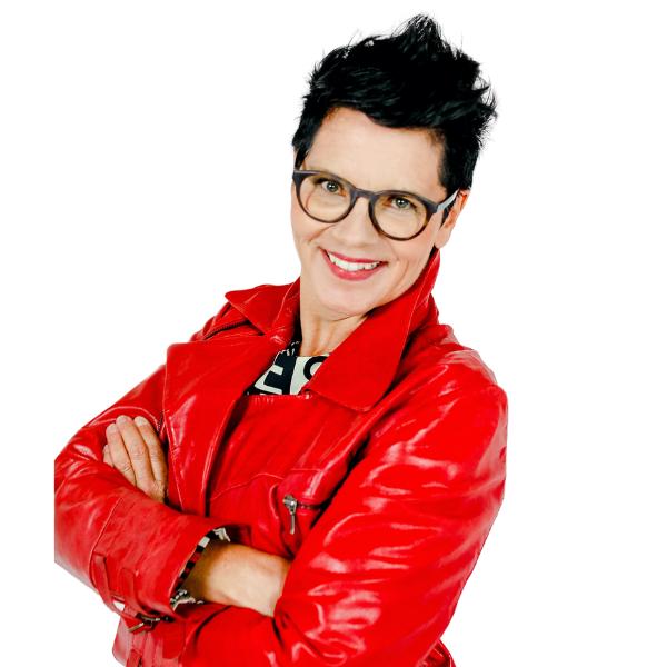 Sabine Votteler roter Mantel