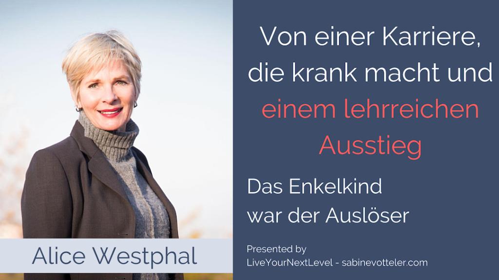 Alice Westphal Interview