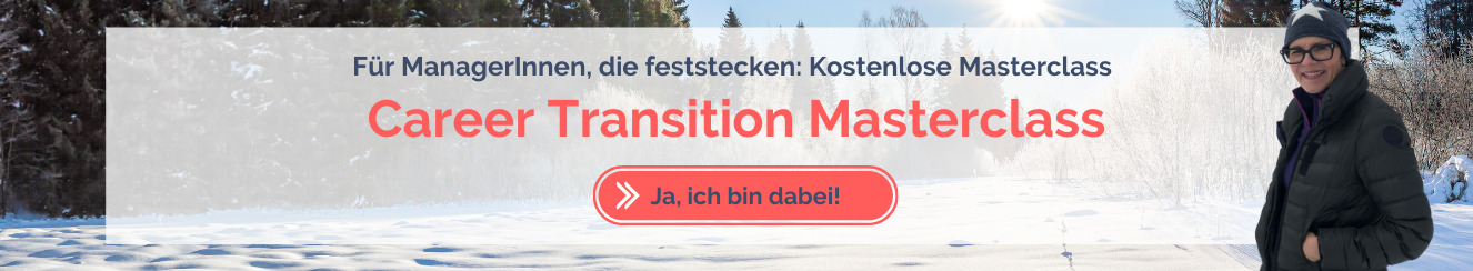 Masterclass Career Transition für Manager