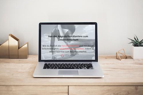 Webinar Laptop