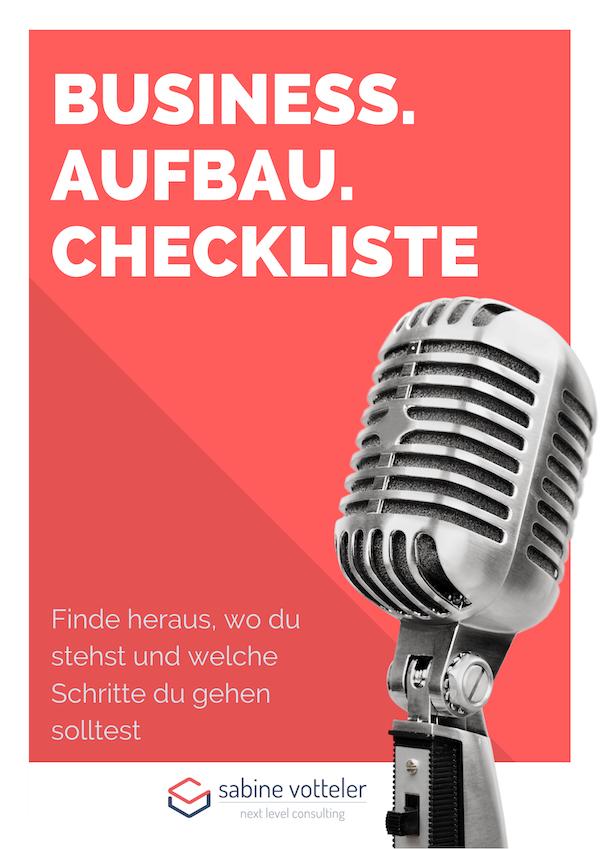 Business Checkliste