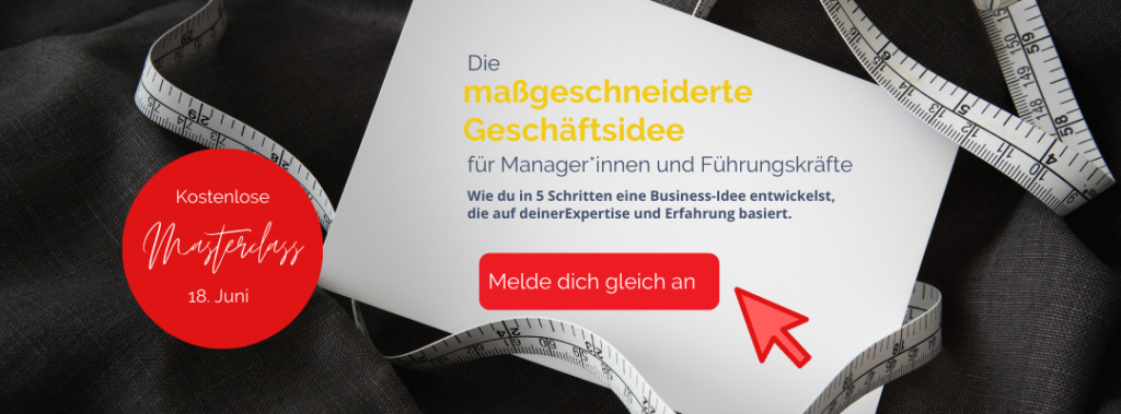 Masterclass Businessidee
